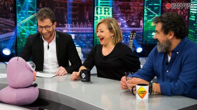 'El Hormiguero': Pablo Motos y la pregunta comprometida a Carmen Machi sobre Paco Tous