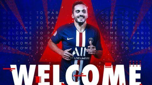 Pablo Sarabia, nuevo fichaje del PSG (París Saint-Germain)