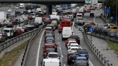 El transporte por carretera es una de las causas del cambio climático