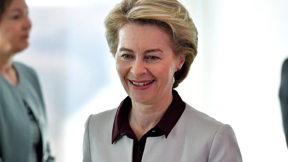 Ursula von der Leyen, nueva presidenta de la Comisión Europea (Foto: AFP)