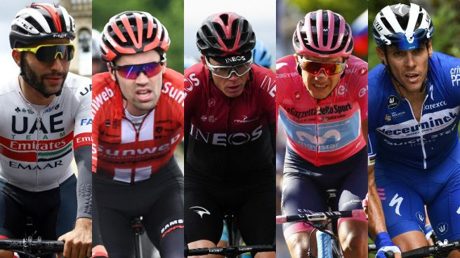 Los grandes ausentes del Tour de Francia 2019 (AFP).