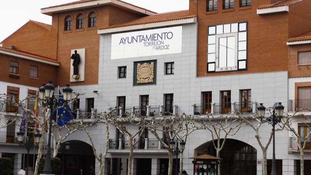 El Ayuntamiento de Torrejón de Ardoz.
