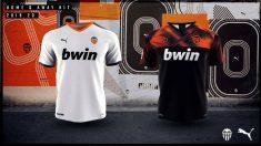 Las nuevas camisetas Puma del Valencia (Valencia Club de Fútbol)