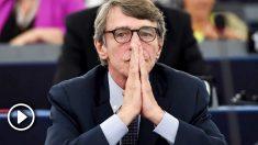 El socialista italiano David-Maria Sassoli será el nuevo presidente del Parlamento Europeo. Foto: AFP