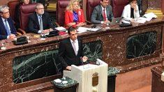 El portavoz del Grupo Parlamentario Vox en Murcia, Juan José Liarte. Foto: EP