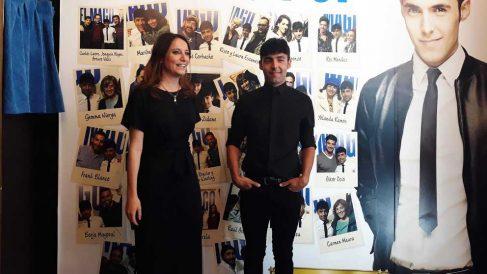 Andrea Levy junto al Mago Pop. Foto: Europa press