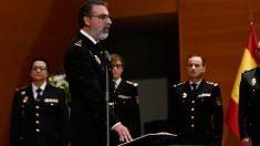 El comisario jefe responsable de Información de la Policía Nacional, Eugenio Pereiro. Foto: EP