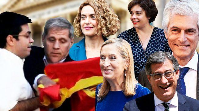 Los 9 miembros de la Mesa del Congreso fueron contra el periodista de OKDIARIO como quería Podemos