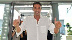 Buffon, nuevo portero de la Juventus. (Juventusfc)
