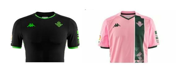 Excelente calidad compra venta comprar Kappa revela por error la segunda y tercera camiseta del Betis