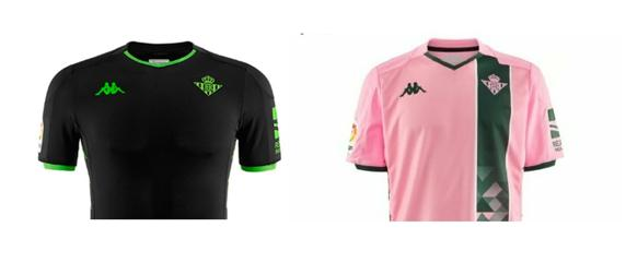 tienda precio moderado estilo limitado Kappa revela por error la segunda y tercera camiseta del Betis