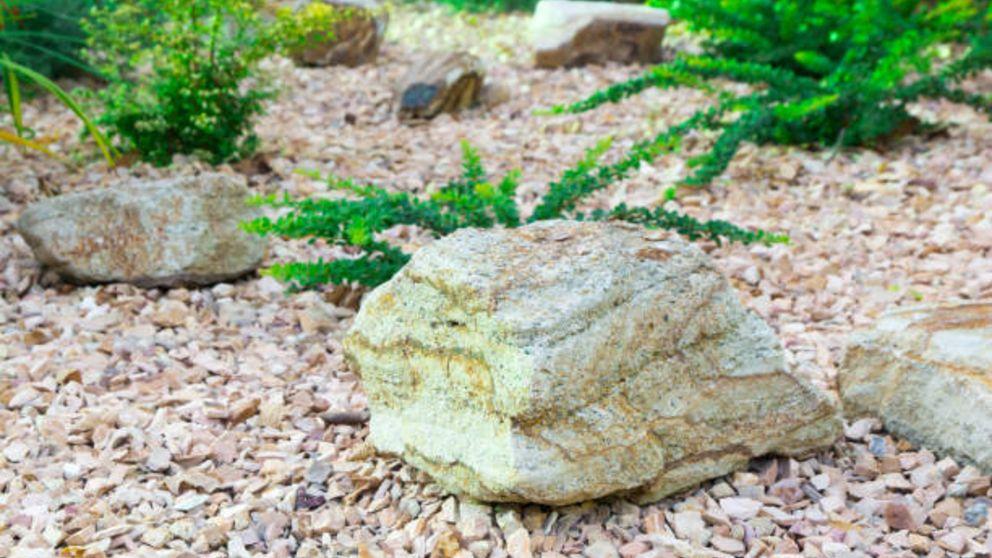 Aprende cómo hacer rocas artificiales para el jardín con cemento