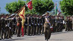 Felipe VI en la Academia Militar de Talarn (Lérida) en la entrega de despachos @Getty