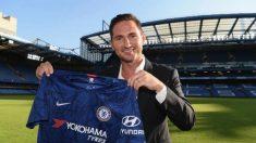 Frank Lampard, nuevo entrenador del Chelsea.
