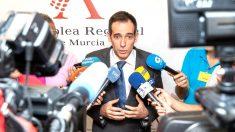 El portavoz de Vox en Murcia, Juan José Liarte, en una reciente imagen (Foto: EFE).