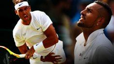 Rafa Nadal y Nick Kyrgios.
