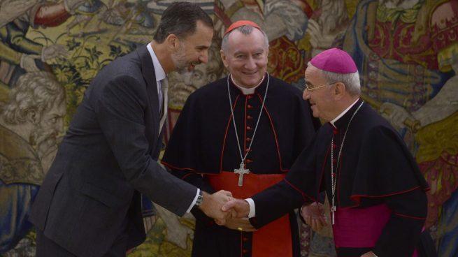 El Rey, Parolin y Fratini