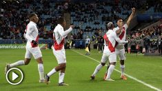 Perú goleó a Chile en la final de la Copa América.