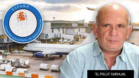 Hugo Carvajal, jefe del espionaje chavista, fue recogido en Barajas por dos miembros del CNI