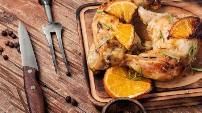 Receta De Pollo Marinado Con Naranja