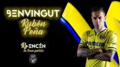 Rubén Peña, nuevo fichaje del Villarreal (Villarreal Club de Fútbol)