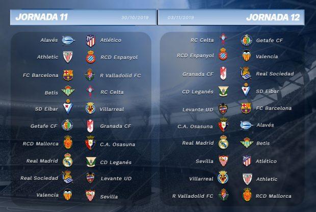 Consulta el calendario completo de la Liga Santander 2019-20