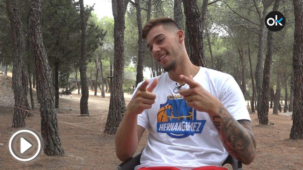 Willy Hernangómez bromea en su entrevista con OKDIARIO.