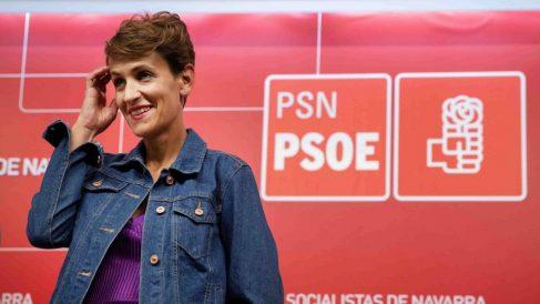 María Chivite, líder de los socialistas de Navarra @EFE