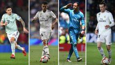 El-Real-Madrid-está-listo-para-emprender-la-segunda-fase-de-la-operación-salida-(Getty-y-AFP)