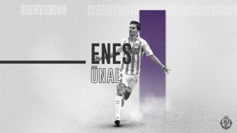 Enes Ünal, cedido nuevamente al Real Valladolid (Real Valladolid)