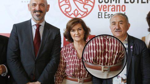 Carmen Calvo, vicepresidenta del Gobierno @Twitter