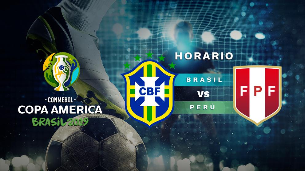 Final de la Copa América 2019: Brasil – Perú.