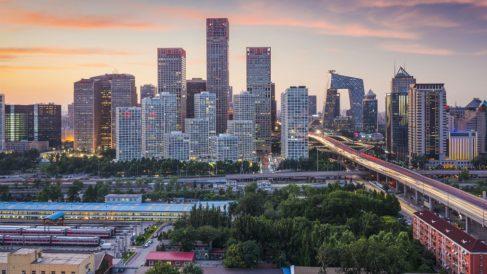 Distrito financiero de Pekín (Foto: iStock)