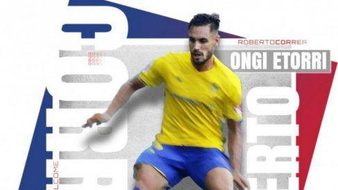 Roberto Correa, nuevo fichaje del Eibar (Sociedad Deportiva Eibar)