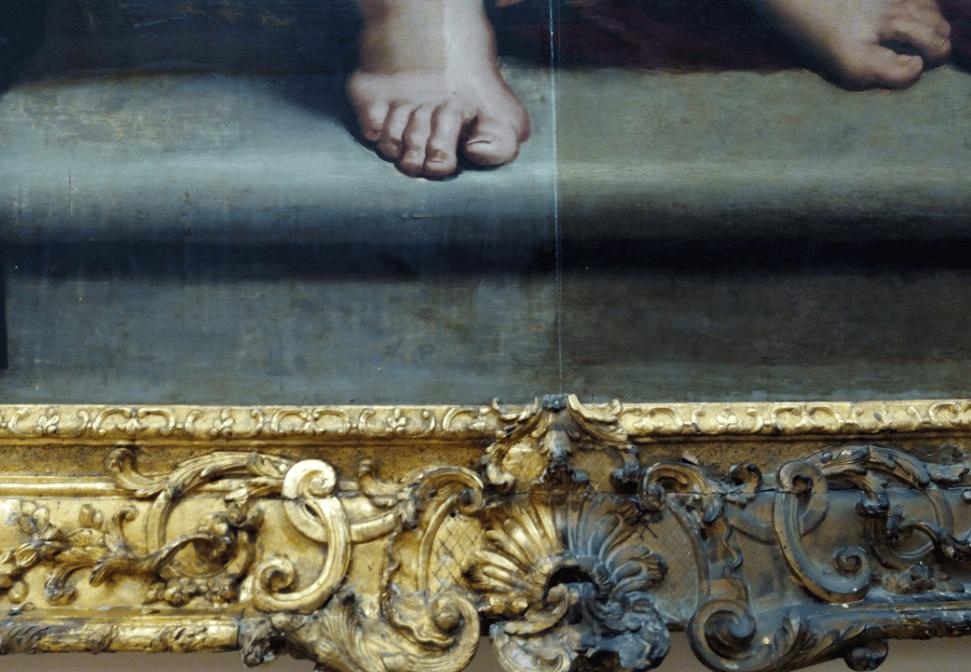 Detalle de 'Susana y los viejos' de Rubens @RABASF