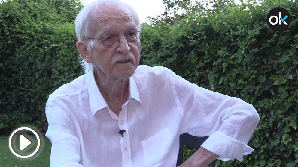 El filósofo y escritor Antonio Escohotado.