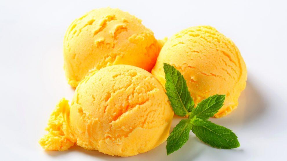 Receta de helado casero de piña