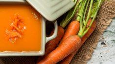 Receta de Potaje frío de zanahorias