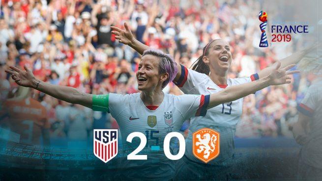 Estados Unidos conquista el mundo (2-0)