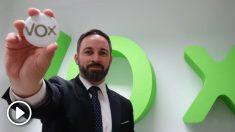 Santiago Abascal, líder de VOX (Foto. Twitter)