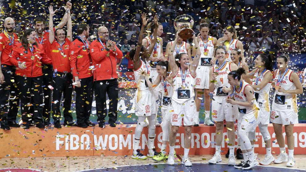 El España-Francia de la final del EuroBasket 2019 fue el evento deportivo más visto del deporte femenino en España.