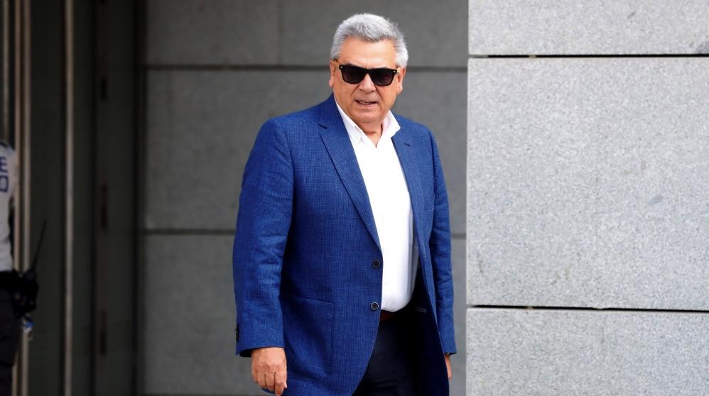 El exjefe de seguridad de BBVA, Julio Corrochano. (Foto. EFE)