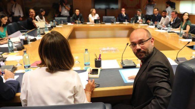 El presidente de la Asamblea de Madrid, Juan Trinidad. (Foto. Europa Press)