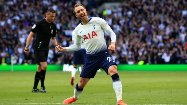 El United, interesado en Eriksen (Getty).