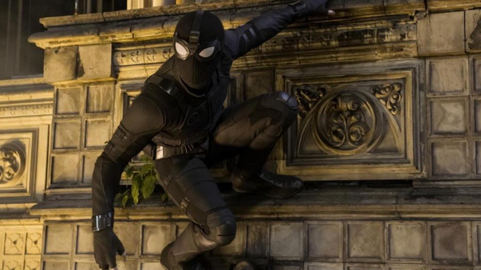 Fotograma de 'Spider Man- lejos de casa'.