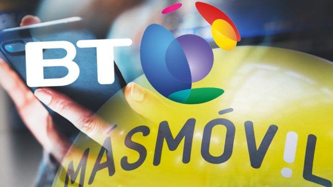 BT España se aleja de MásMóvil