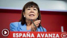 La presidenta del PSOE, Cristina Narbona. Foto: EFE