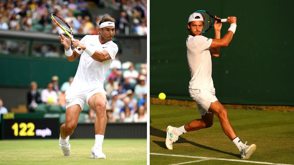 Sigue en directo el partido de octavos de final de Wimbledon 2019 entre Rafa Nadal y Joao Sousa