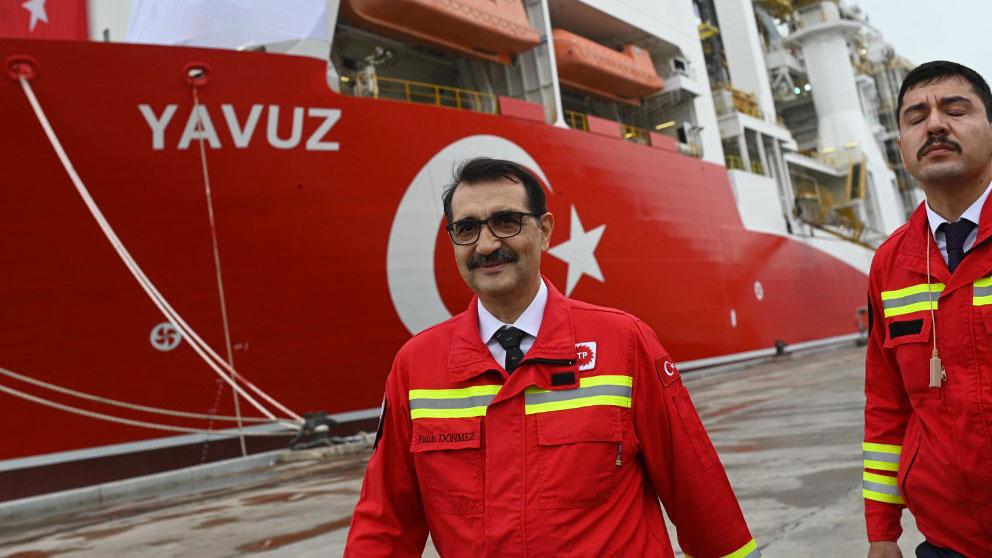 El ministro de Energía de Turquía, Fatih Donmez. Foto: AFP