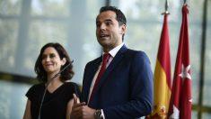 Ignacio Aguado e Isabel Díez Ayuso